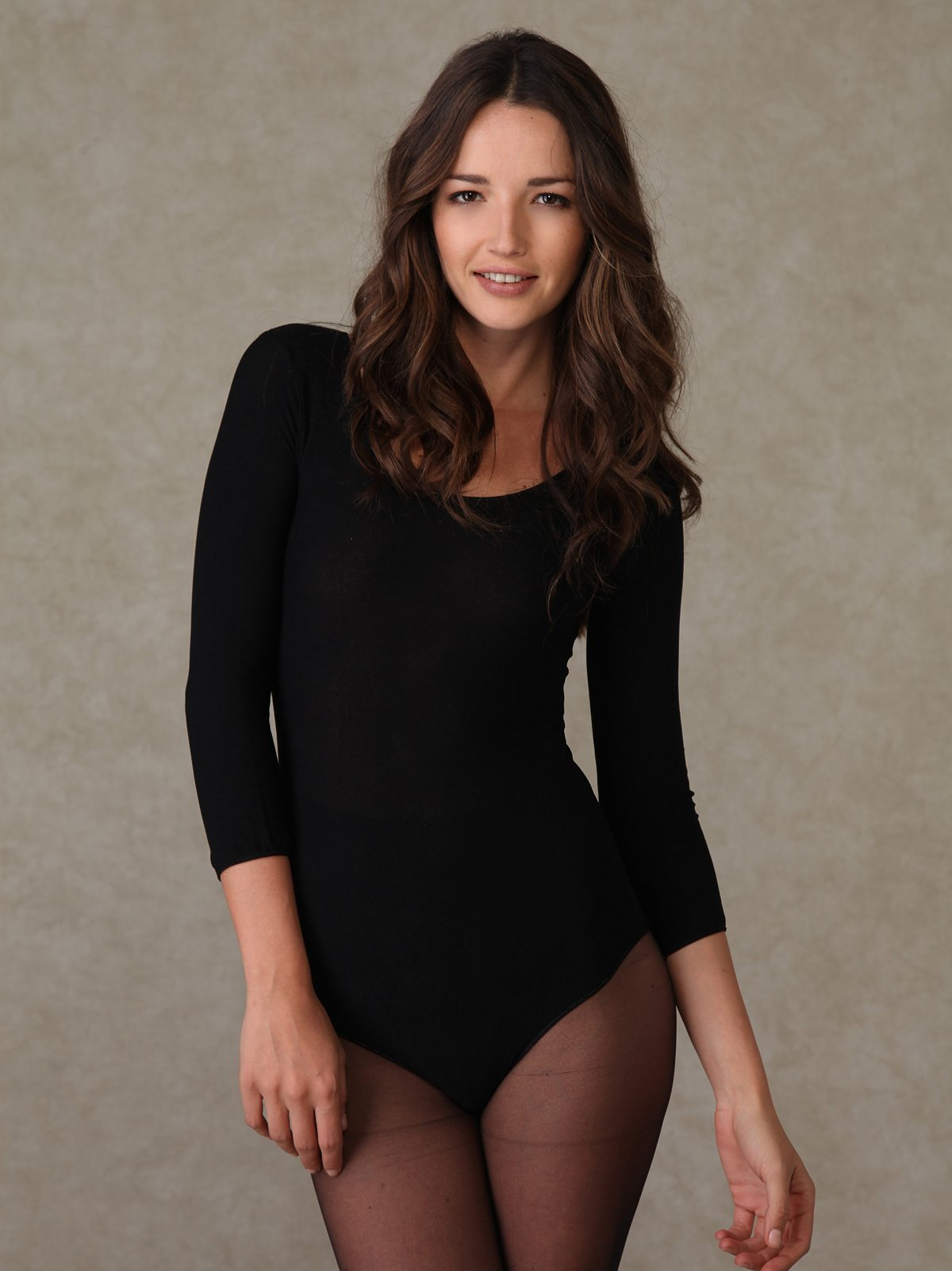Long Sleeve Scoop Body Suit