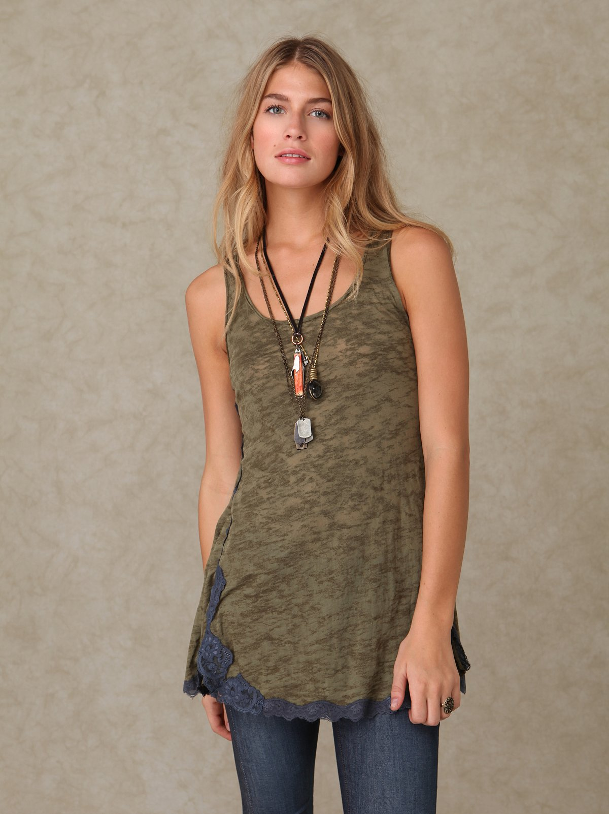 We the Free Lacey Burnout Tunic