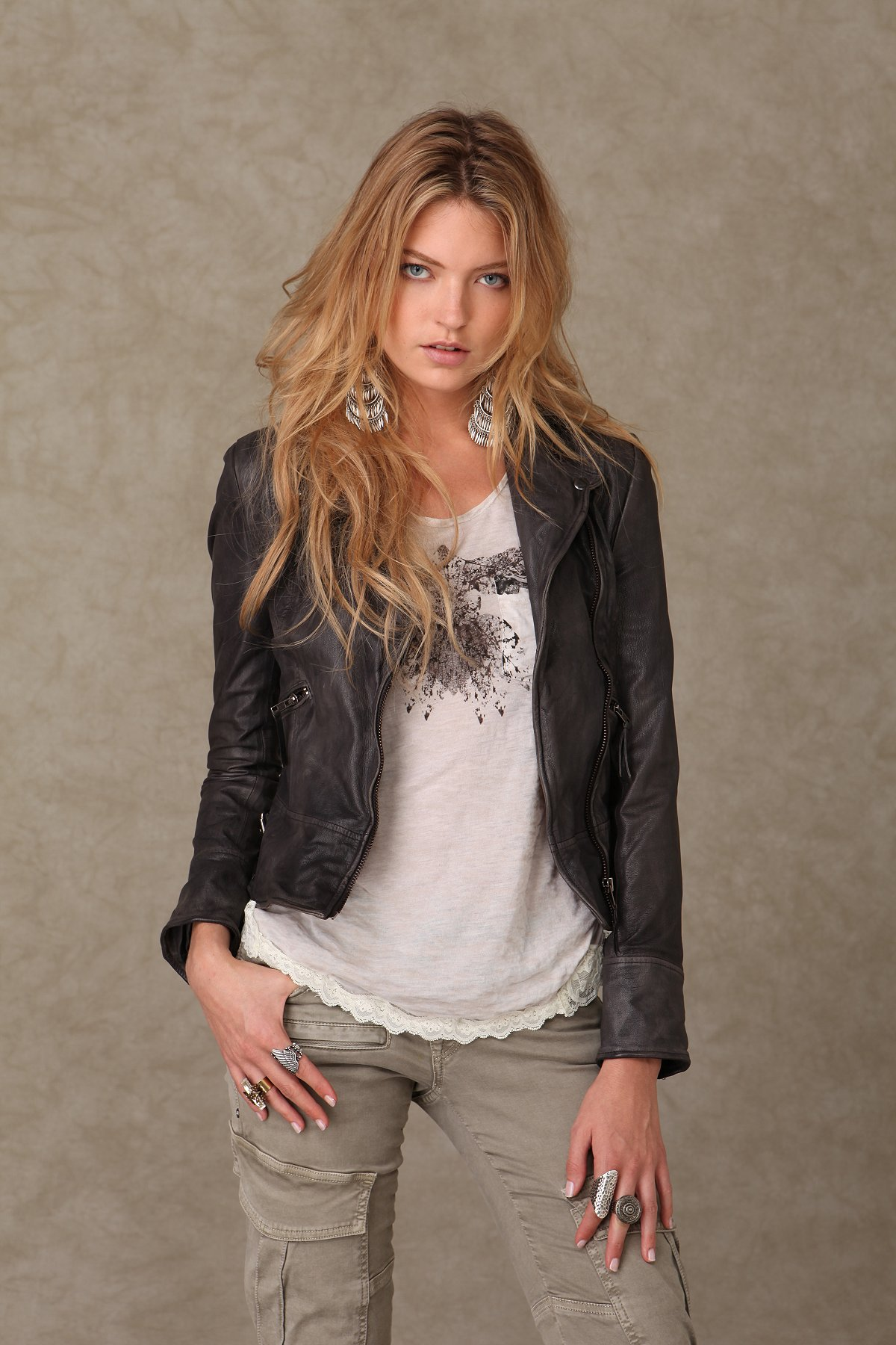Muu Baa Leather Jacket