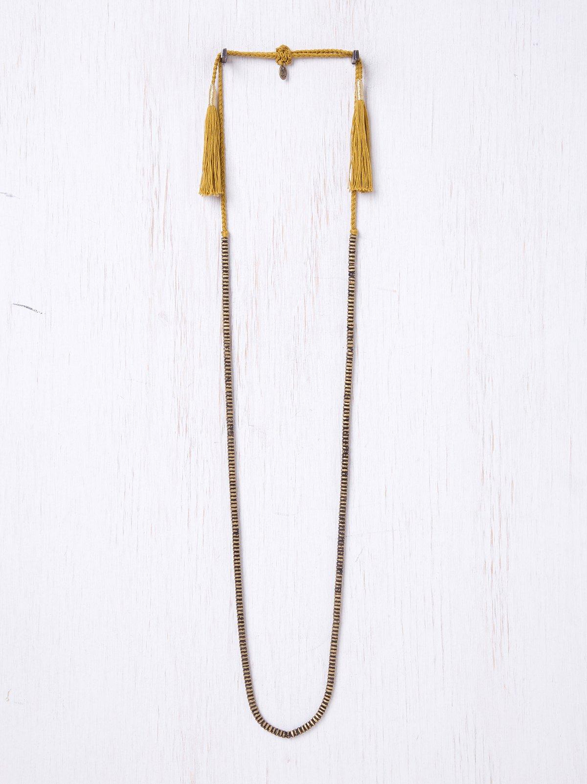 Rope Tassle Necklace