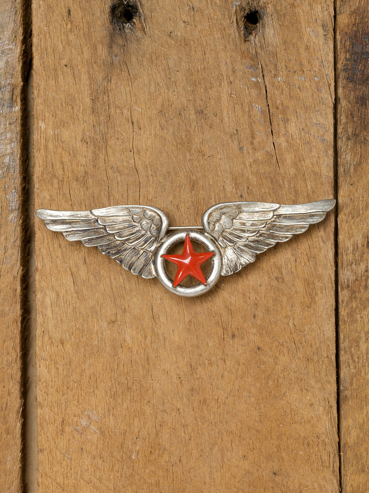 Winged Admiral Pin