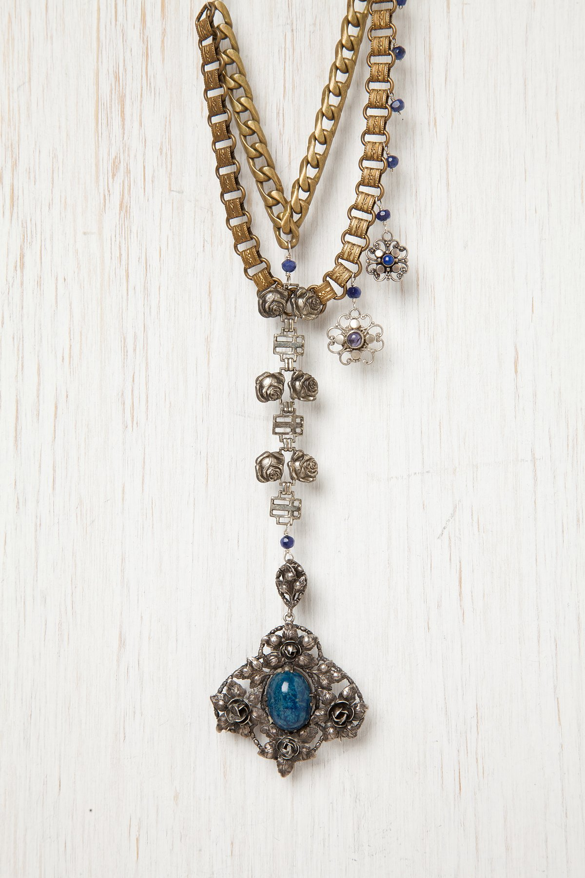 Military Charm Necklace