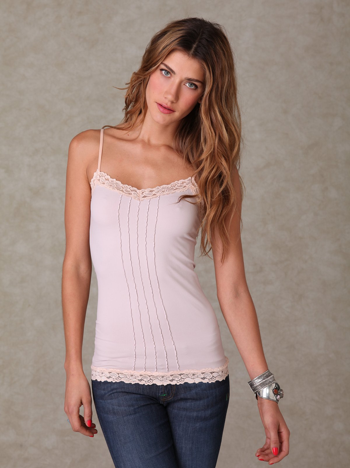 Baby Pleats Seamless Tank