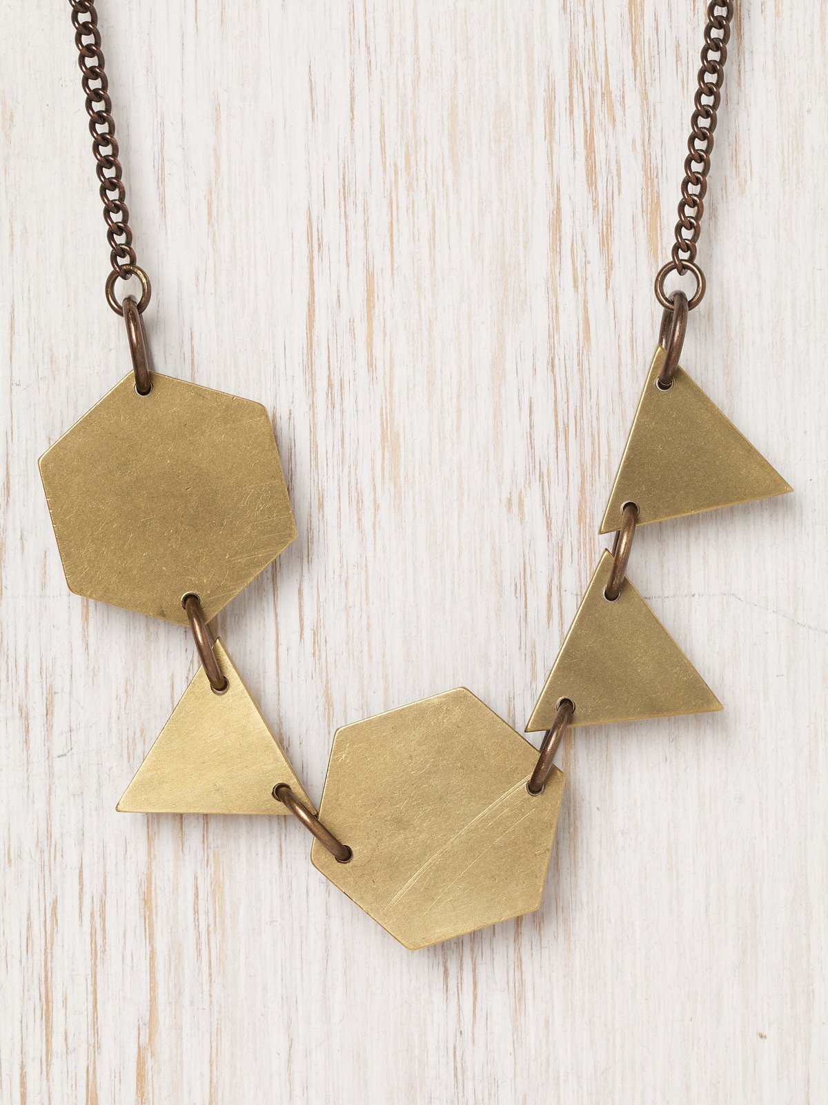 Scattered Shapes Necklace