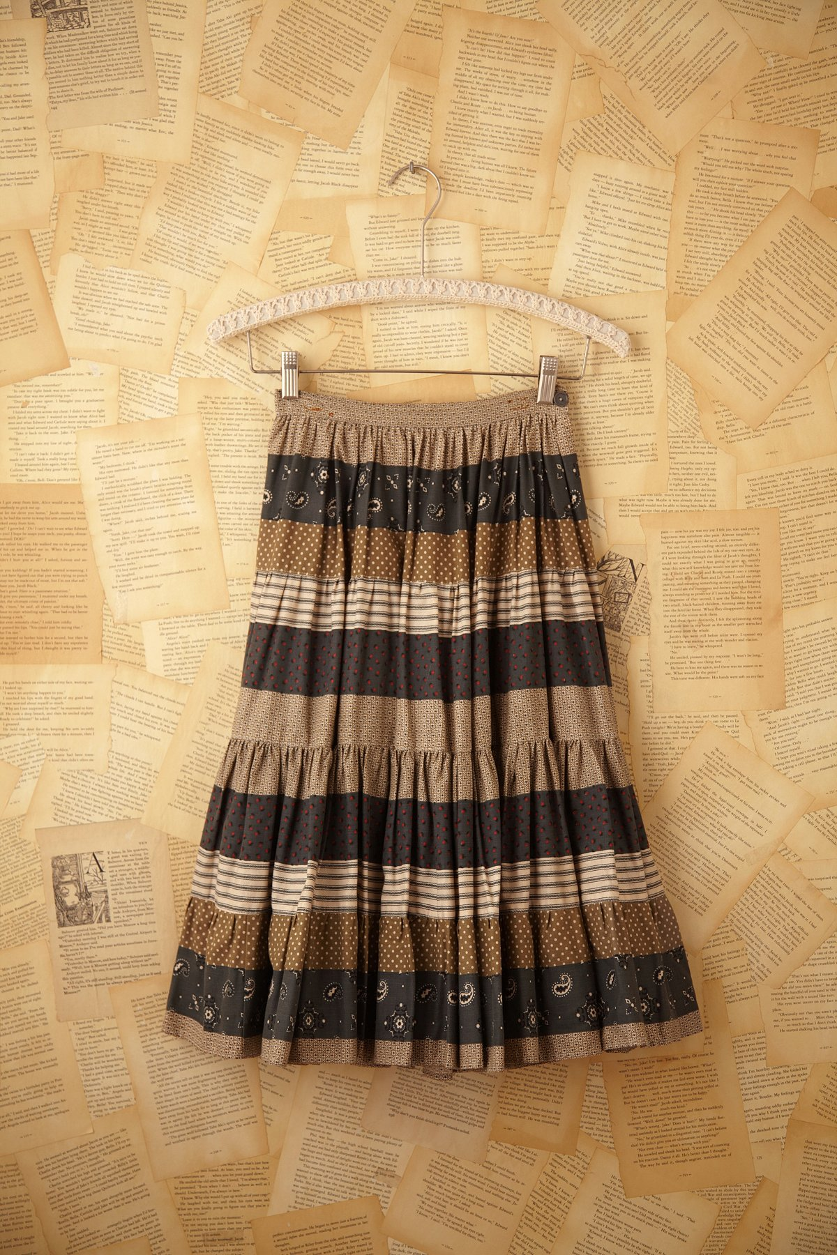 Vintage Bandana Skirt