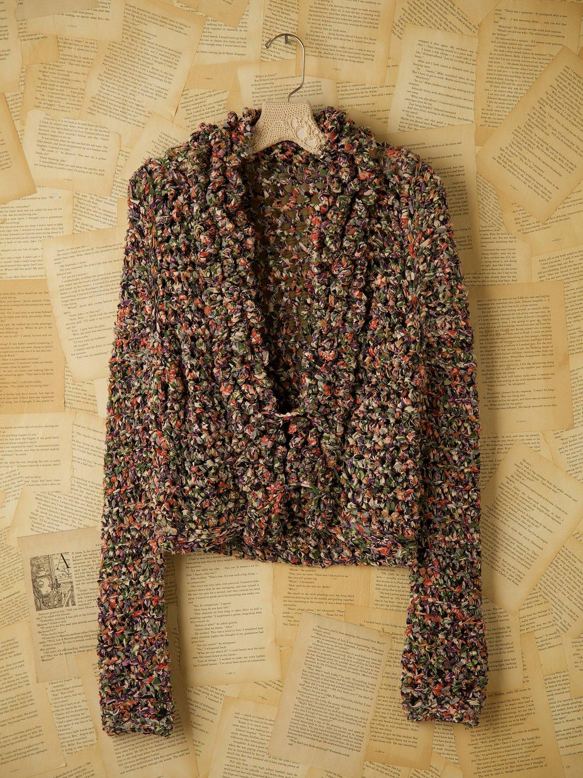 Vintage Rag Rug Jacket