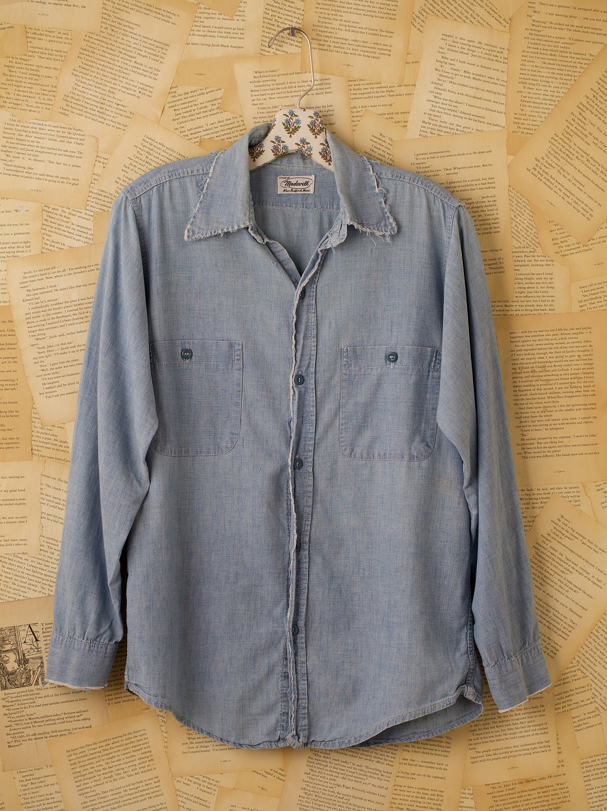 Vintage Denim Chambry Shirt
