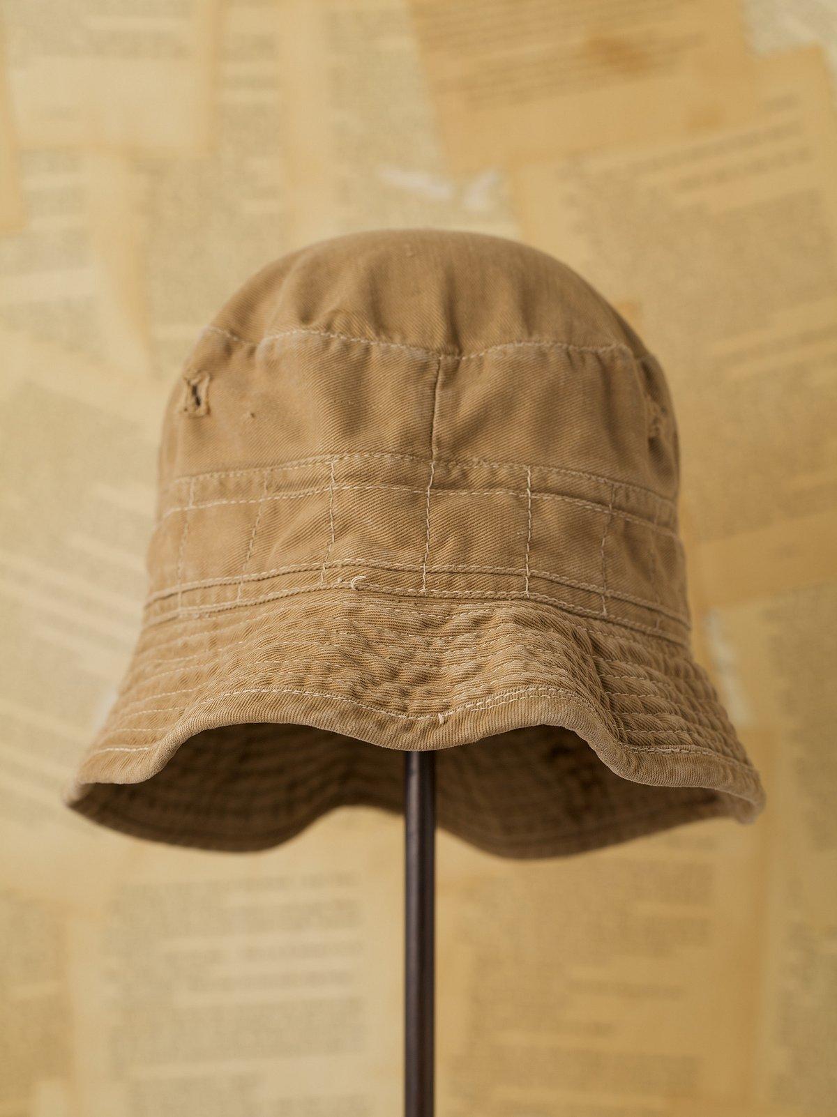 Vintage Khaki Crusher Hat