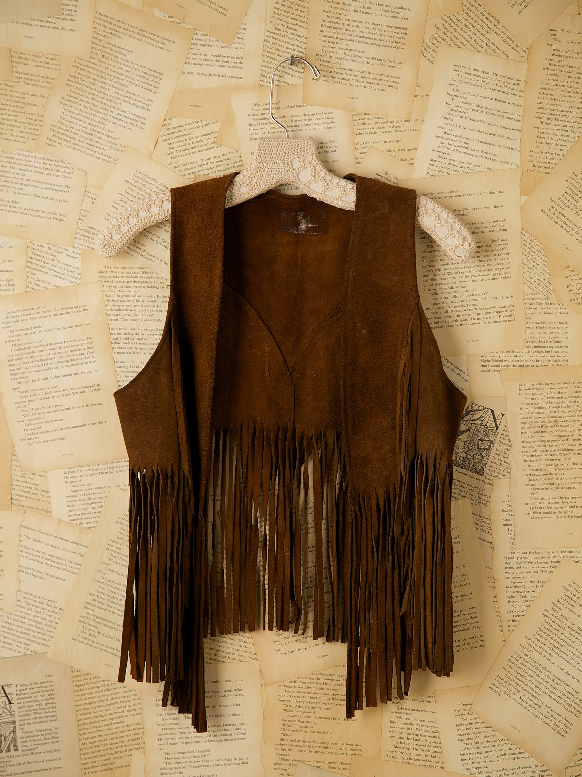 Vintage Authentic Woodstock Fringe Vest