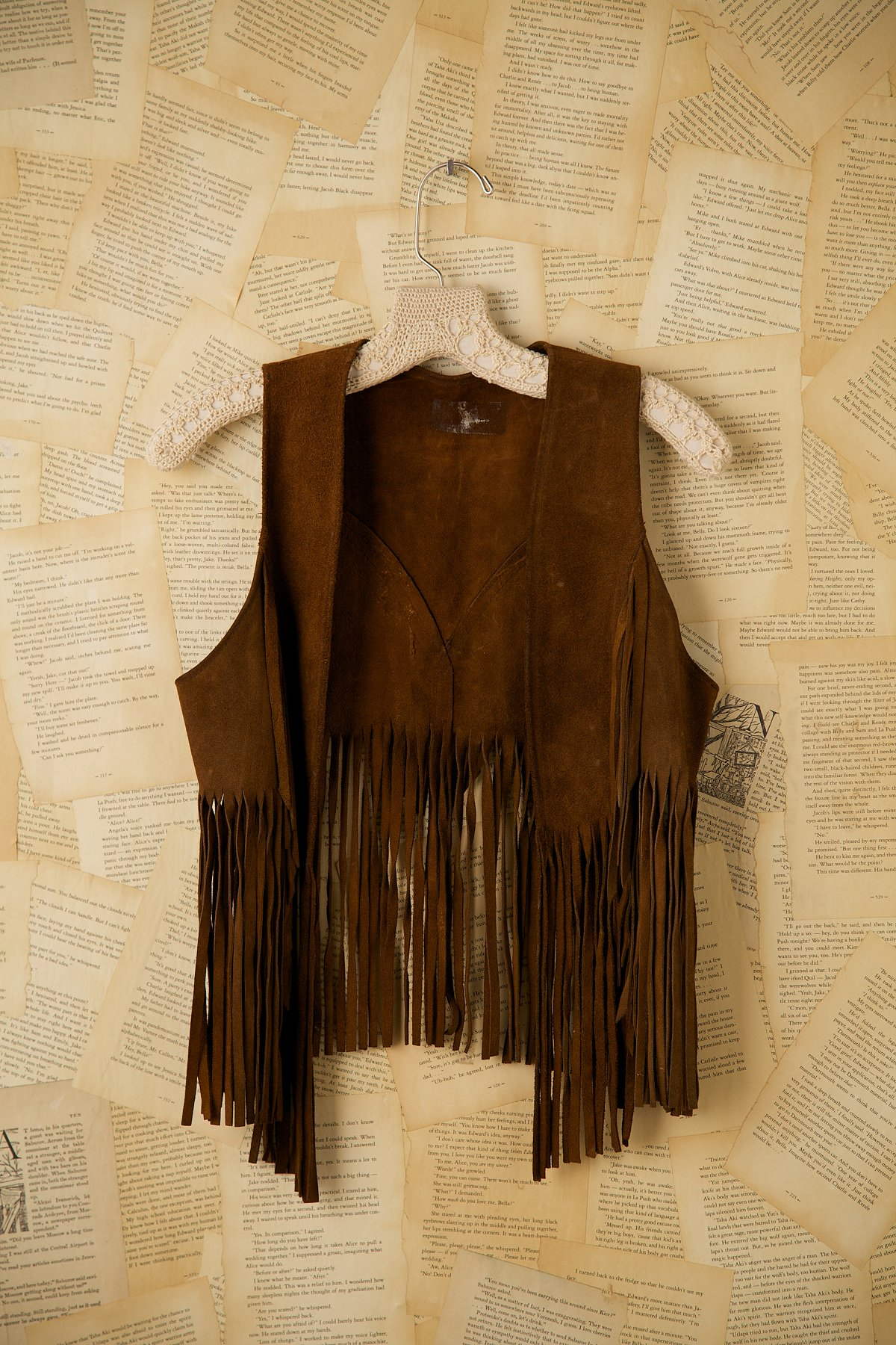 Vintage Authentic Woodstock Fringe Vest