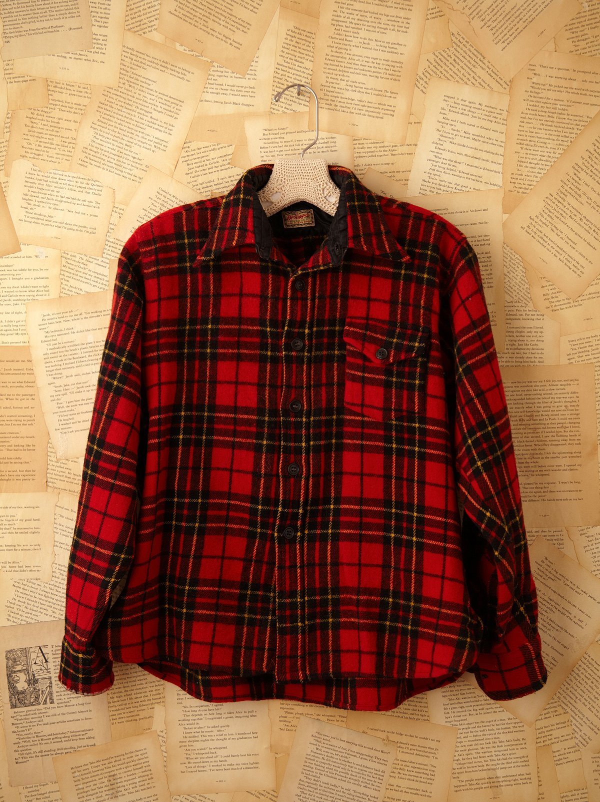 Vintage Wool Hunting Shirt