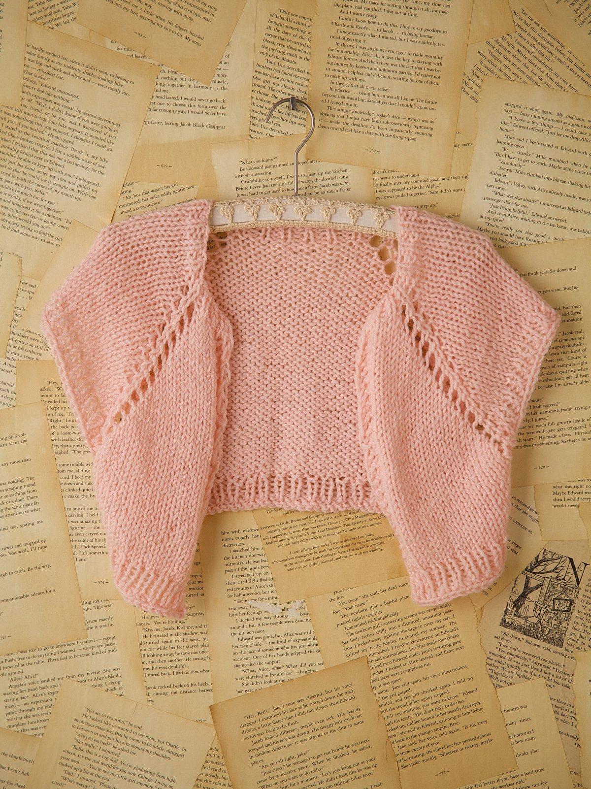 Vintage Hand Knit Shrug