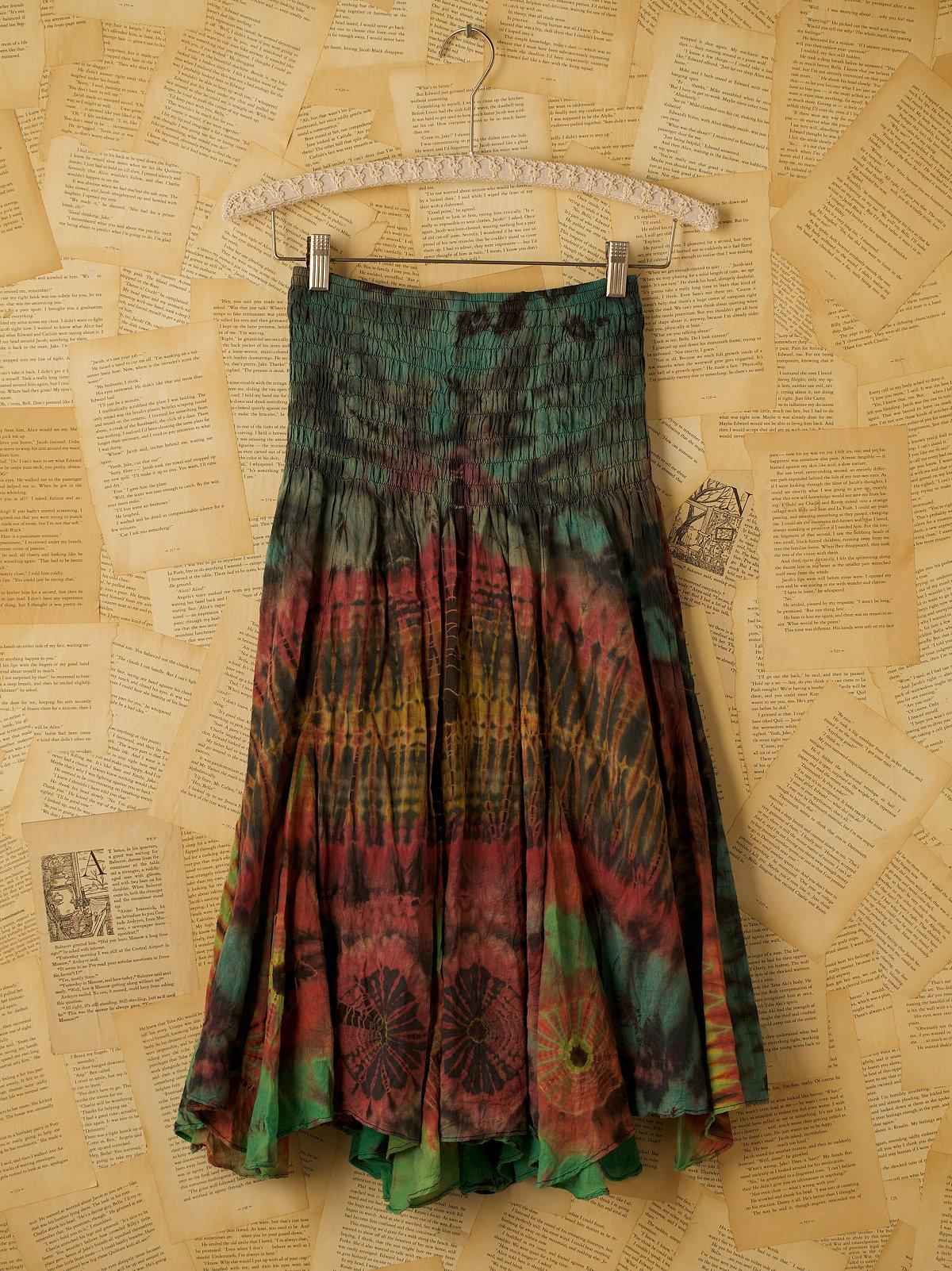 Vintage Tie Dye Tube Dress
