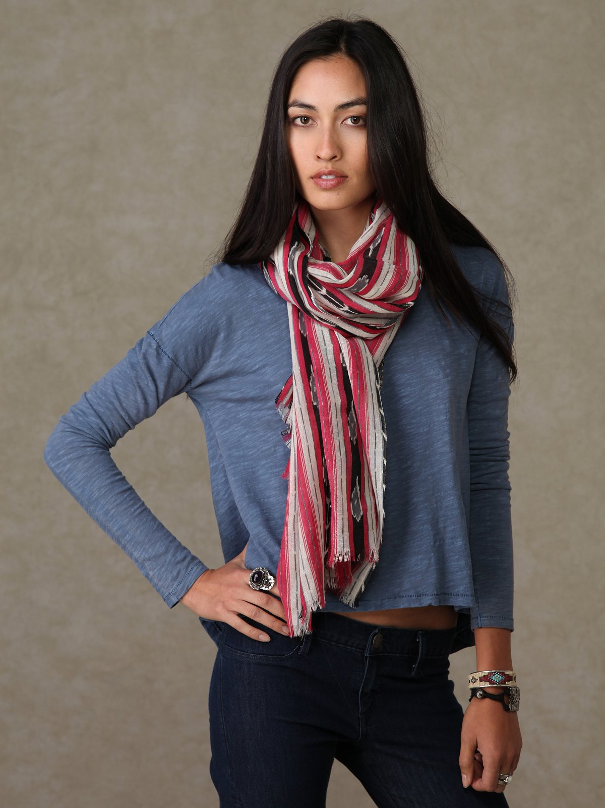 Tribe Printed Scarf