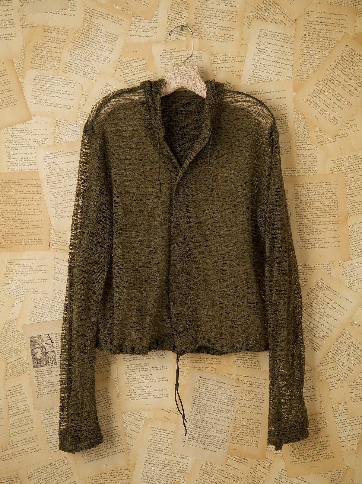Vintage Mosquito Net Jacket