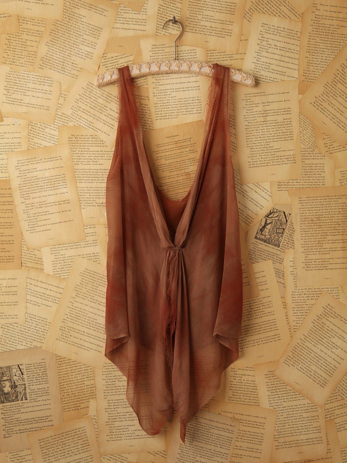 Vintage Chiffon Tie Dye Tank