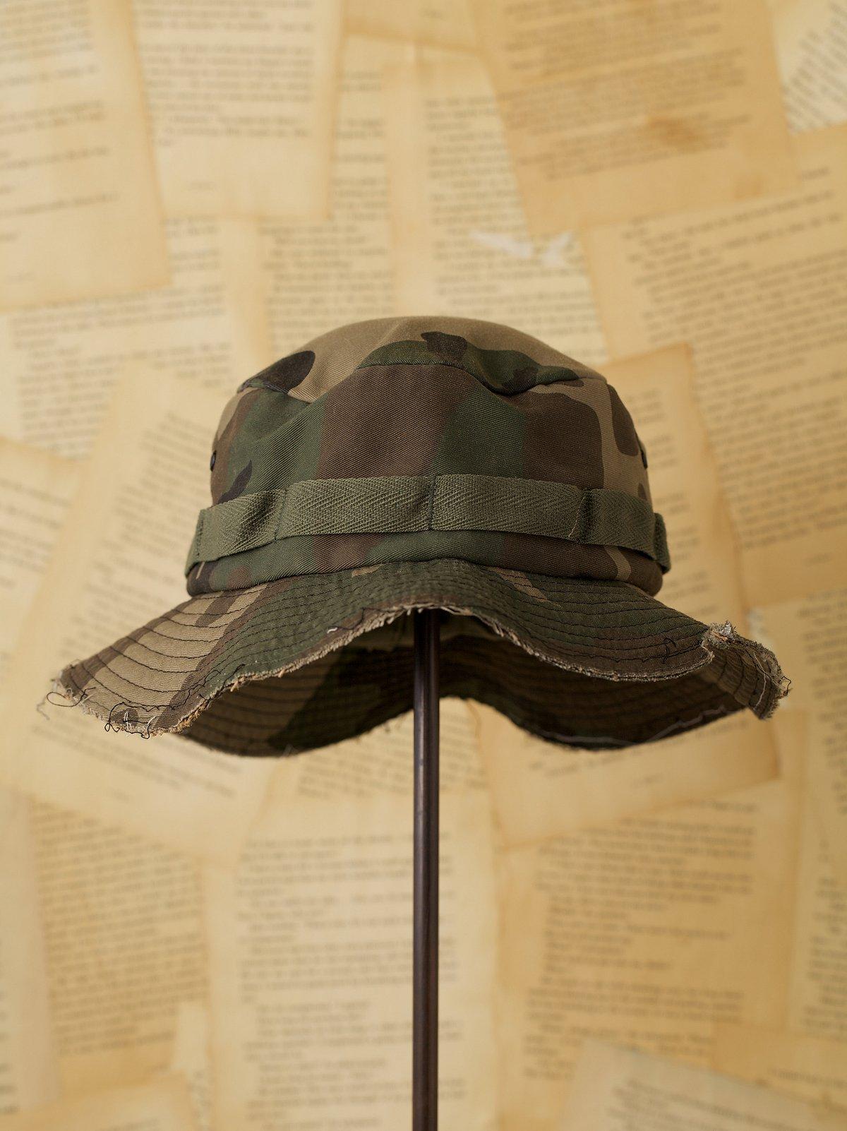 Vintage Camo Military Bucket Hat