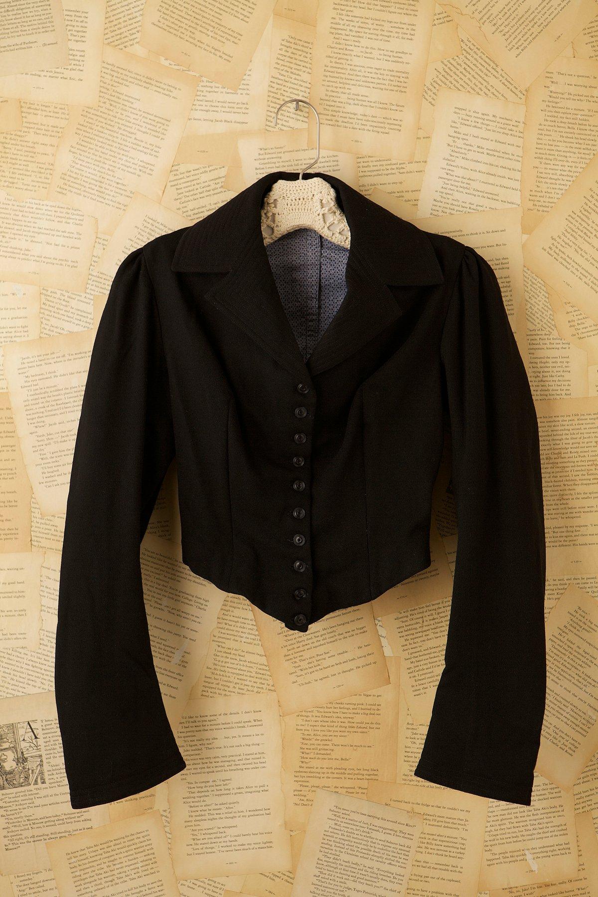 Vintage Wool Victorian Coat
