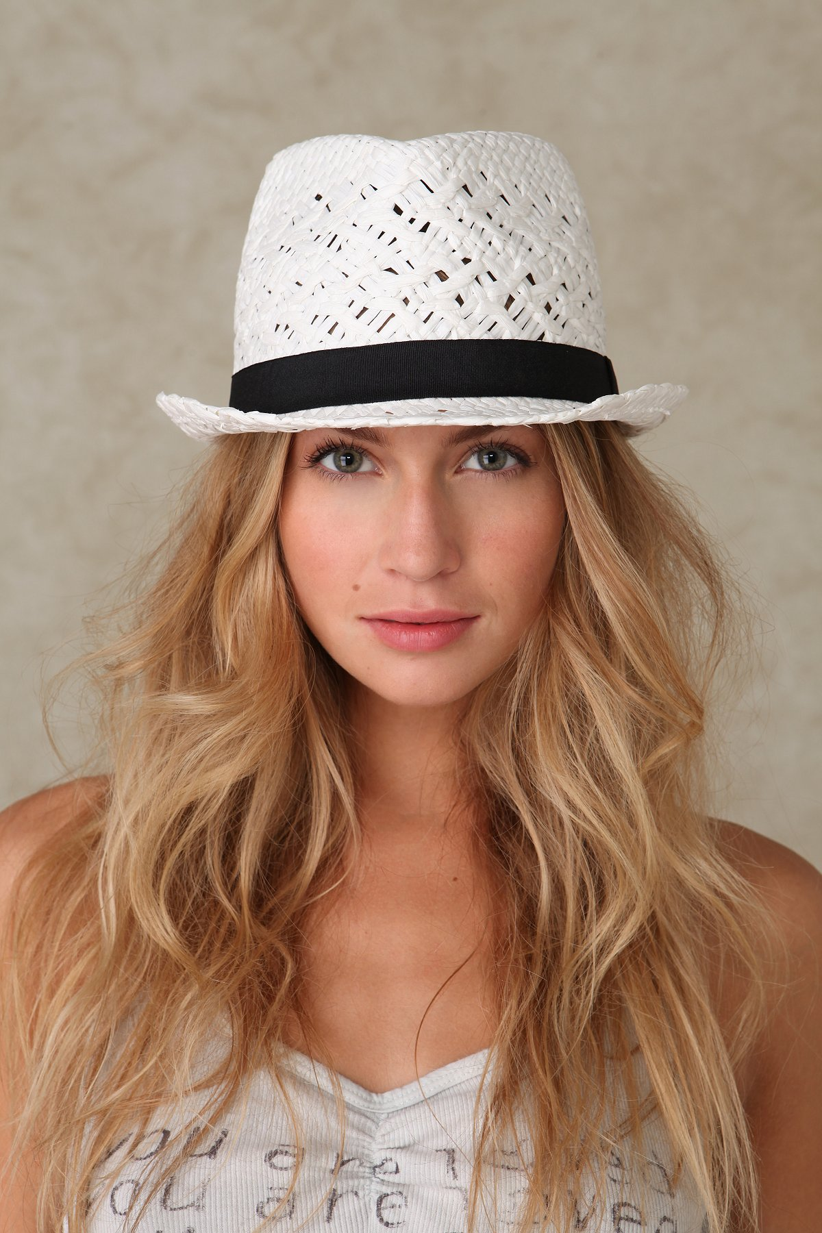 Carrie's Woven Fedora