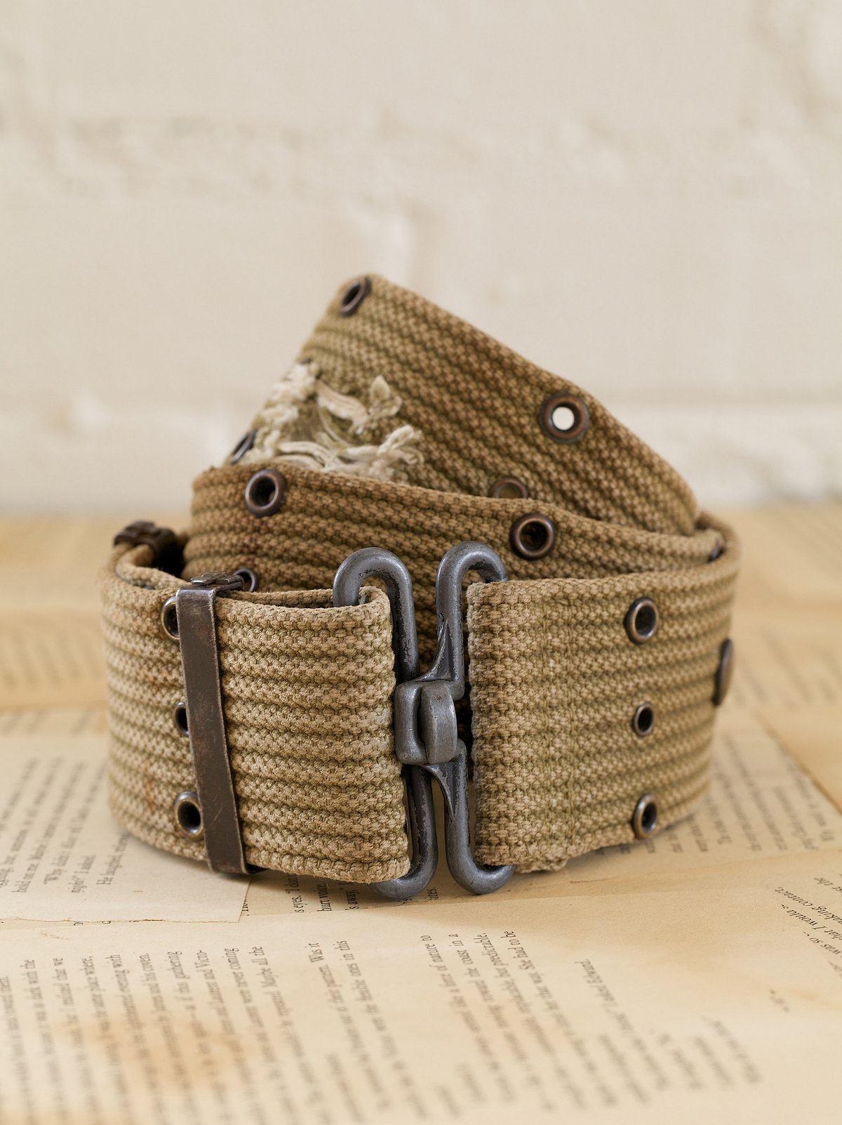 Vintage Military Bettina Belt