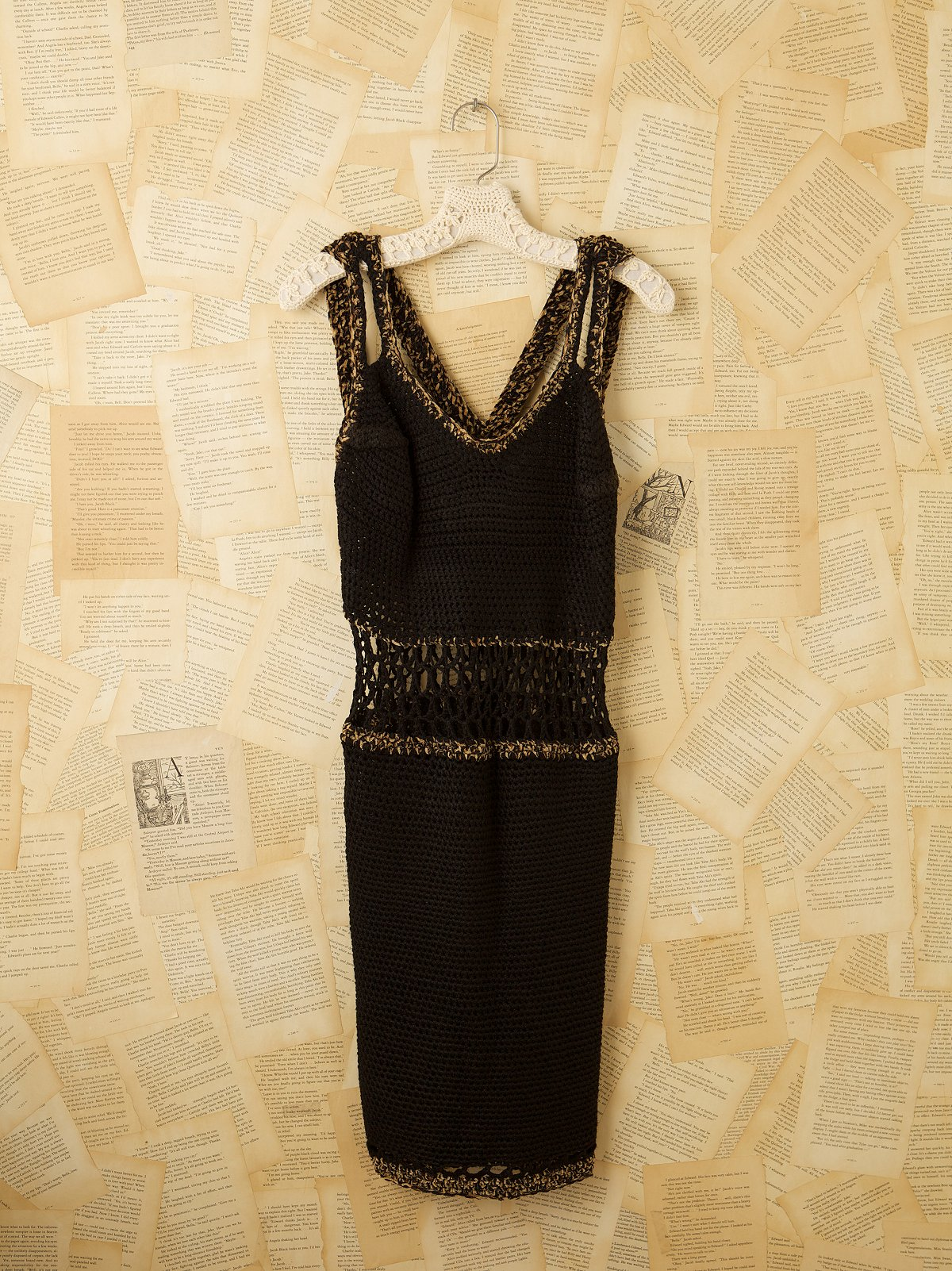 Vintage Hand Knit Dress