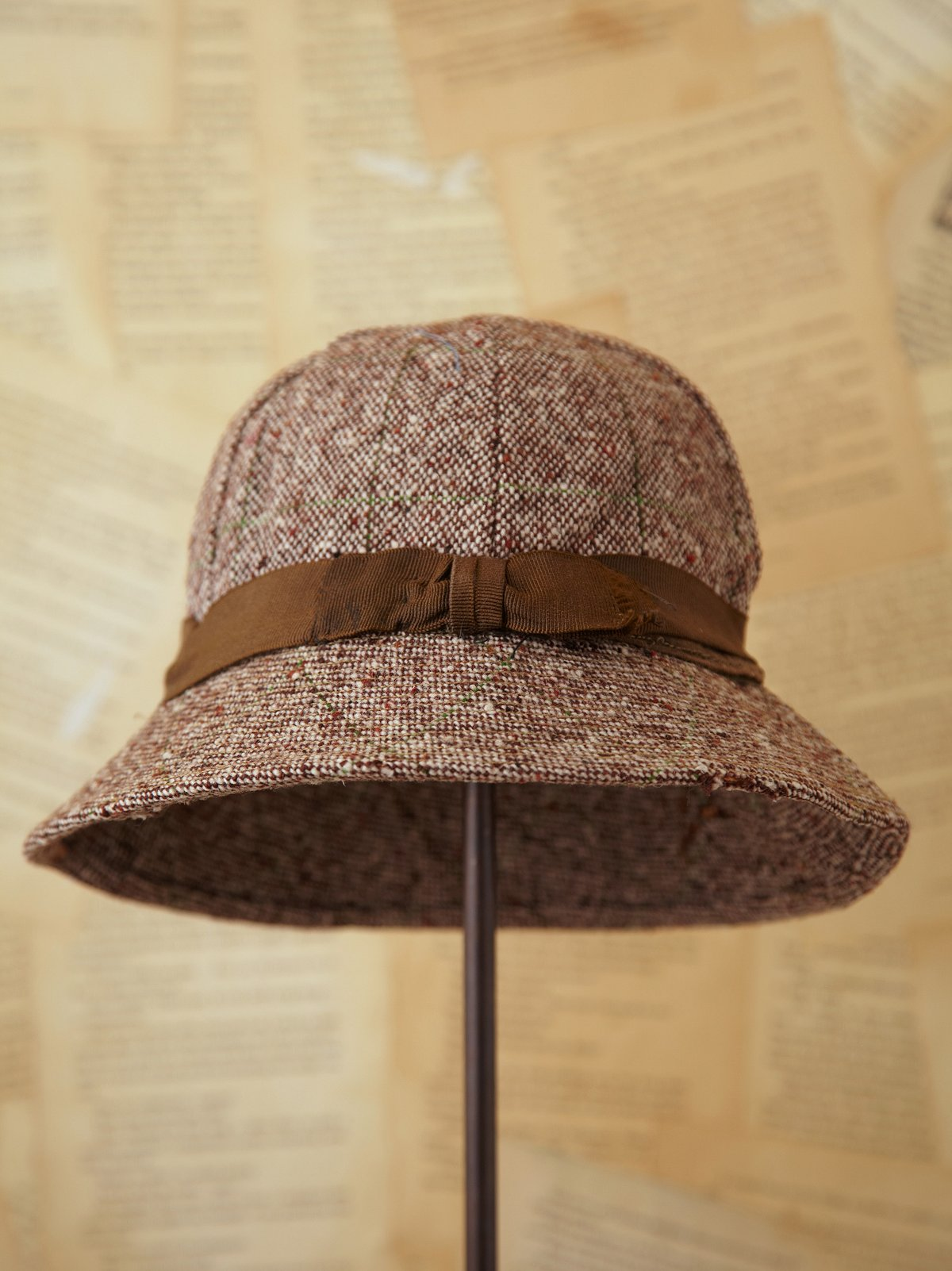Vintage Tweed Women's Hat