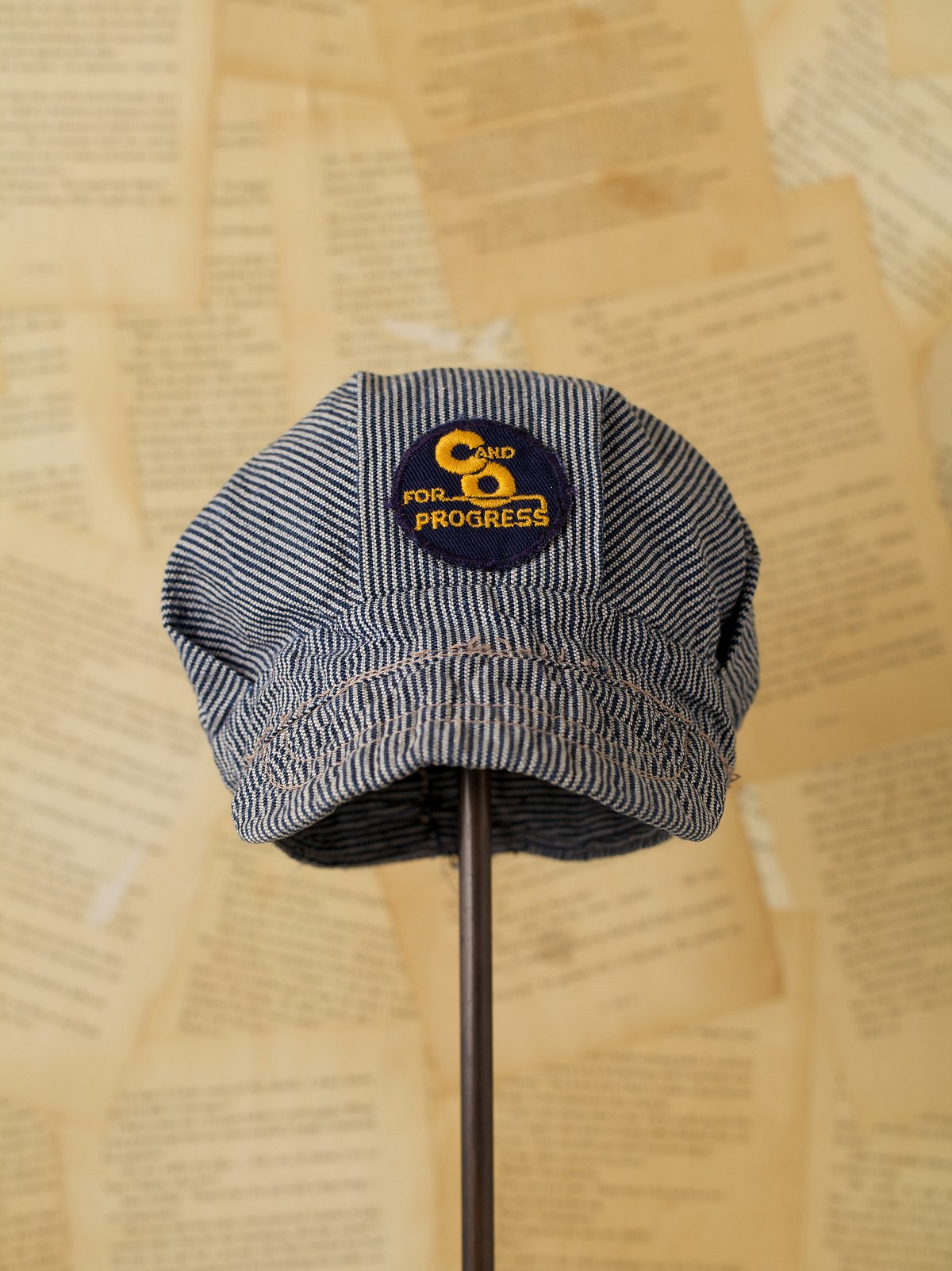 Vintage C&O Railroad Hat