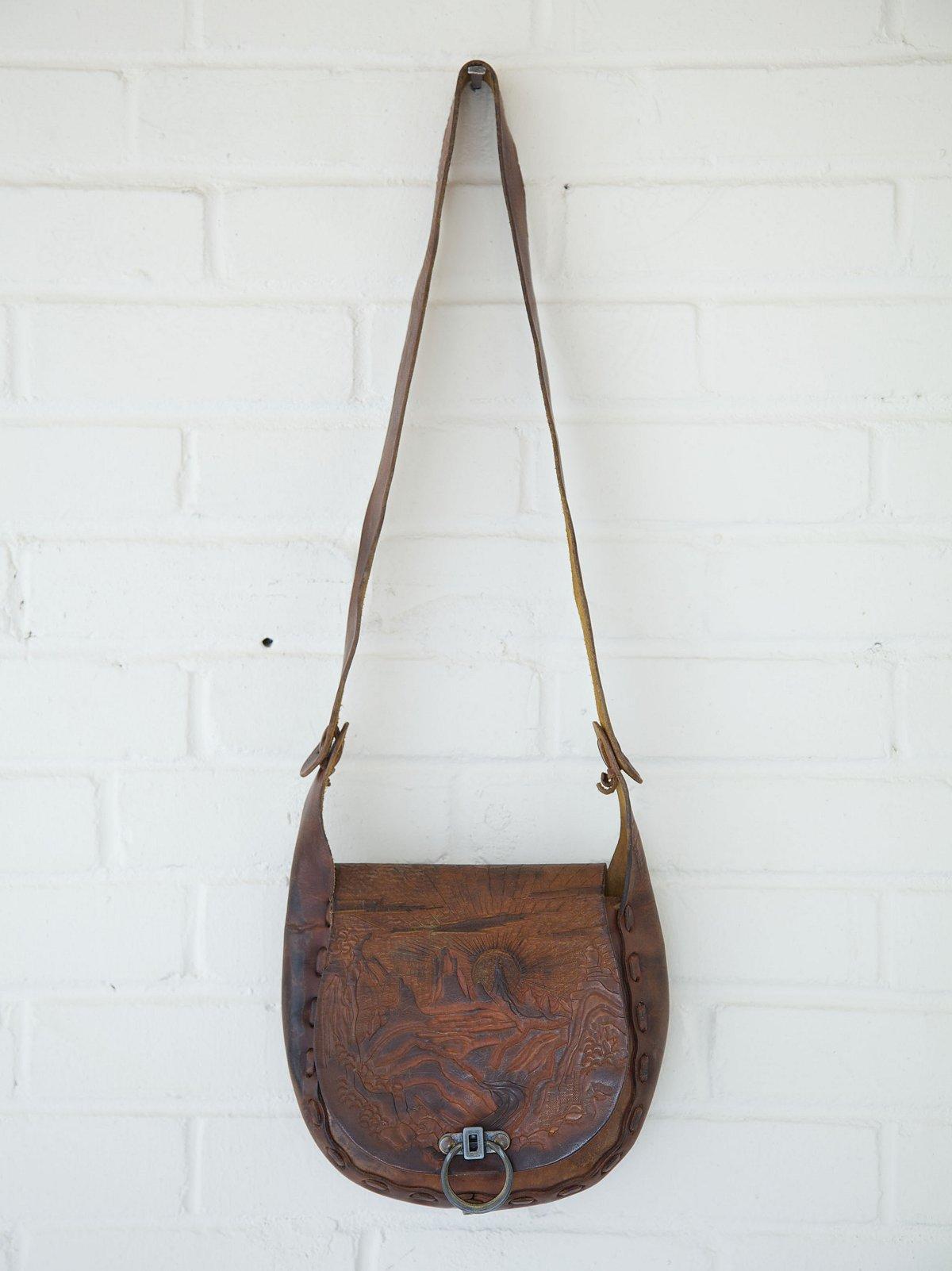Vintage Lock Boho Bag