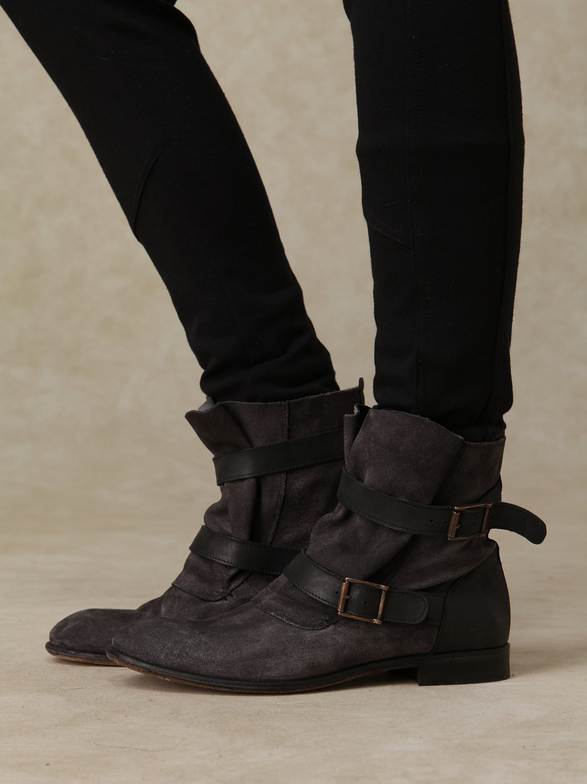 Starley Buckle Boot