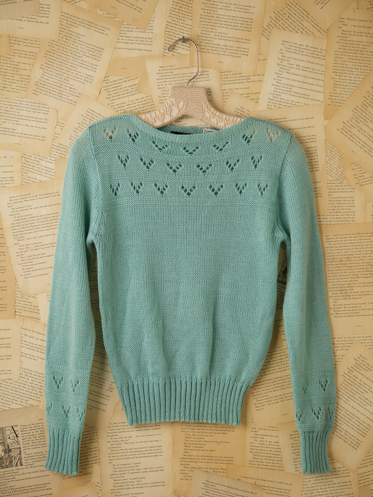 Vintage Tippy Tops 1970s Knit Sweater