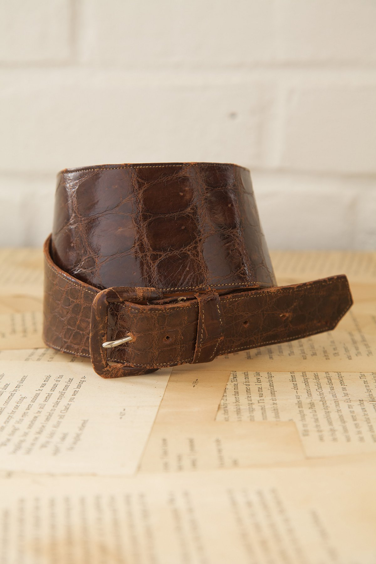 Vintage Alligator Belt