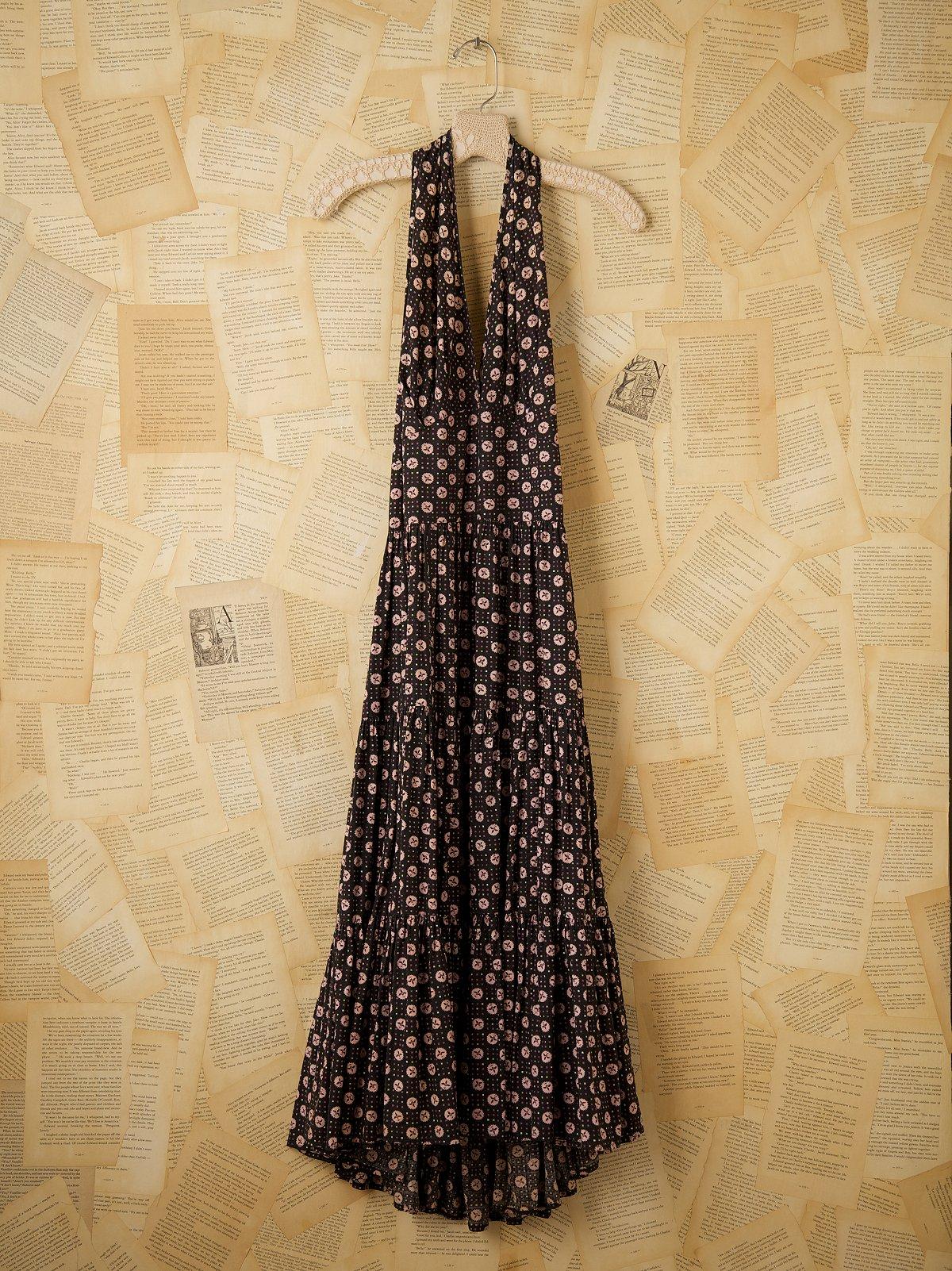 Vintage Halter Sun Dress