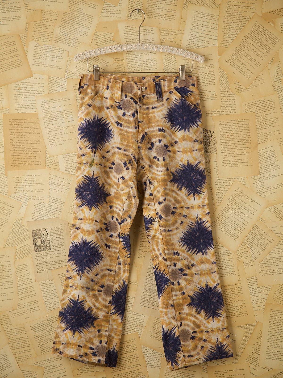 Vintage Tie Dyed Jeans