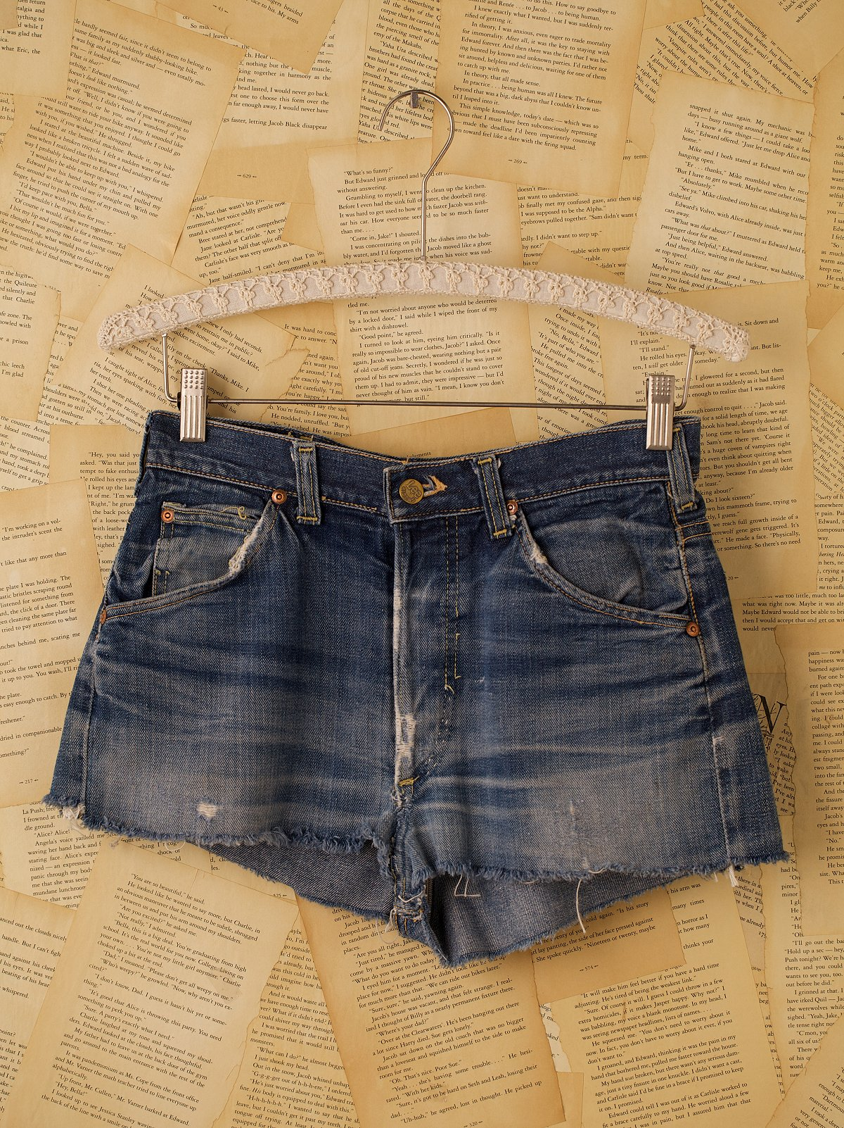 Vintage Lee Denim Cutoff Shorts