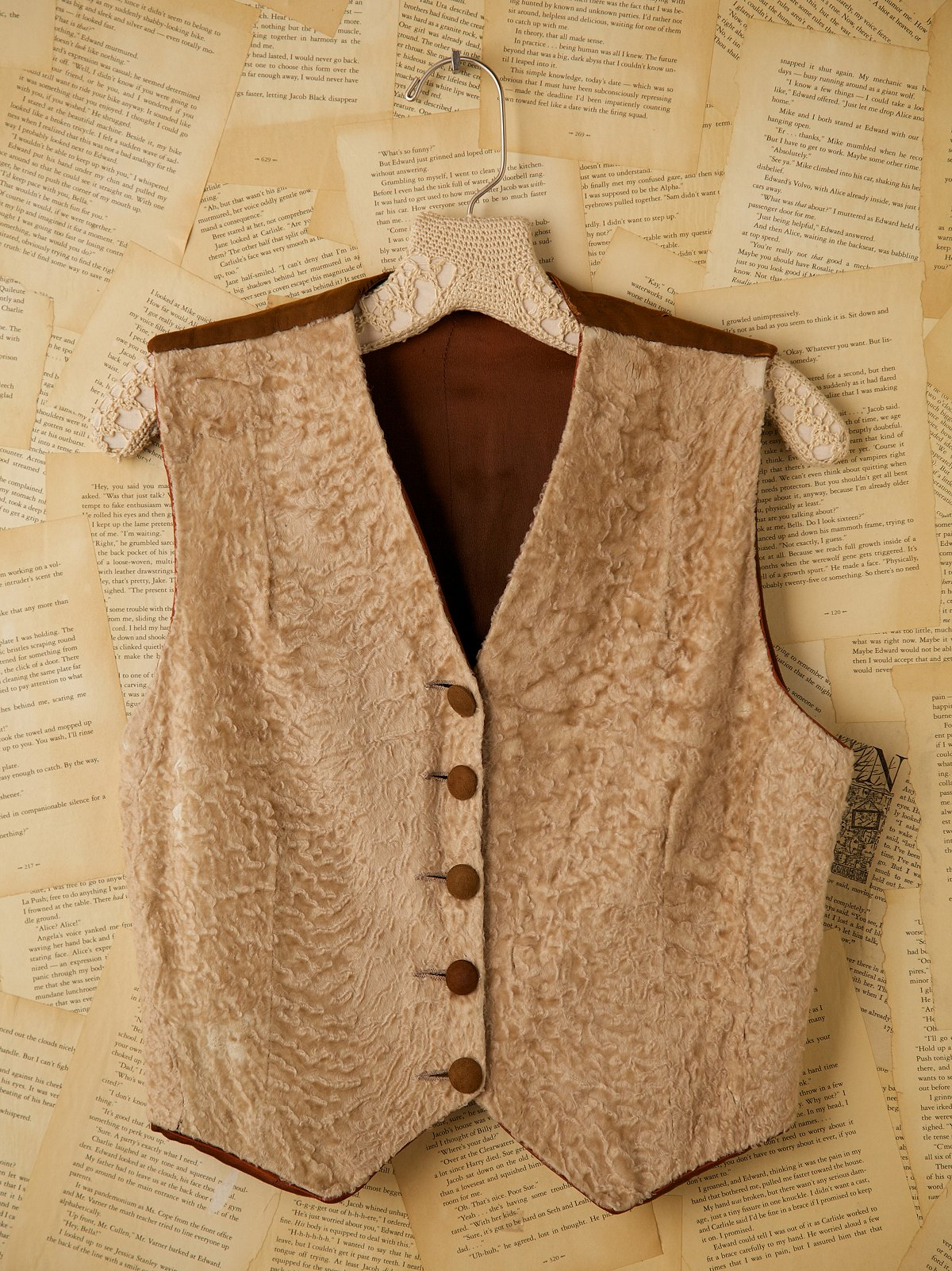 Vintage Sheared Front Waistcoat