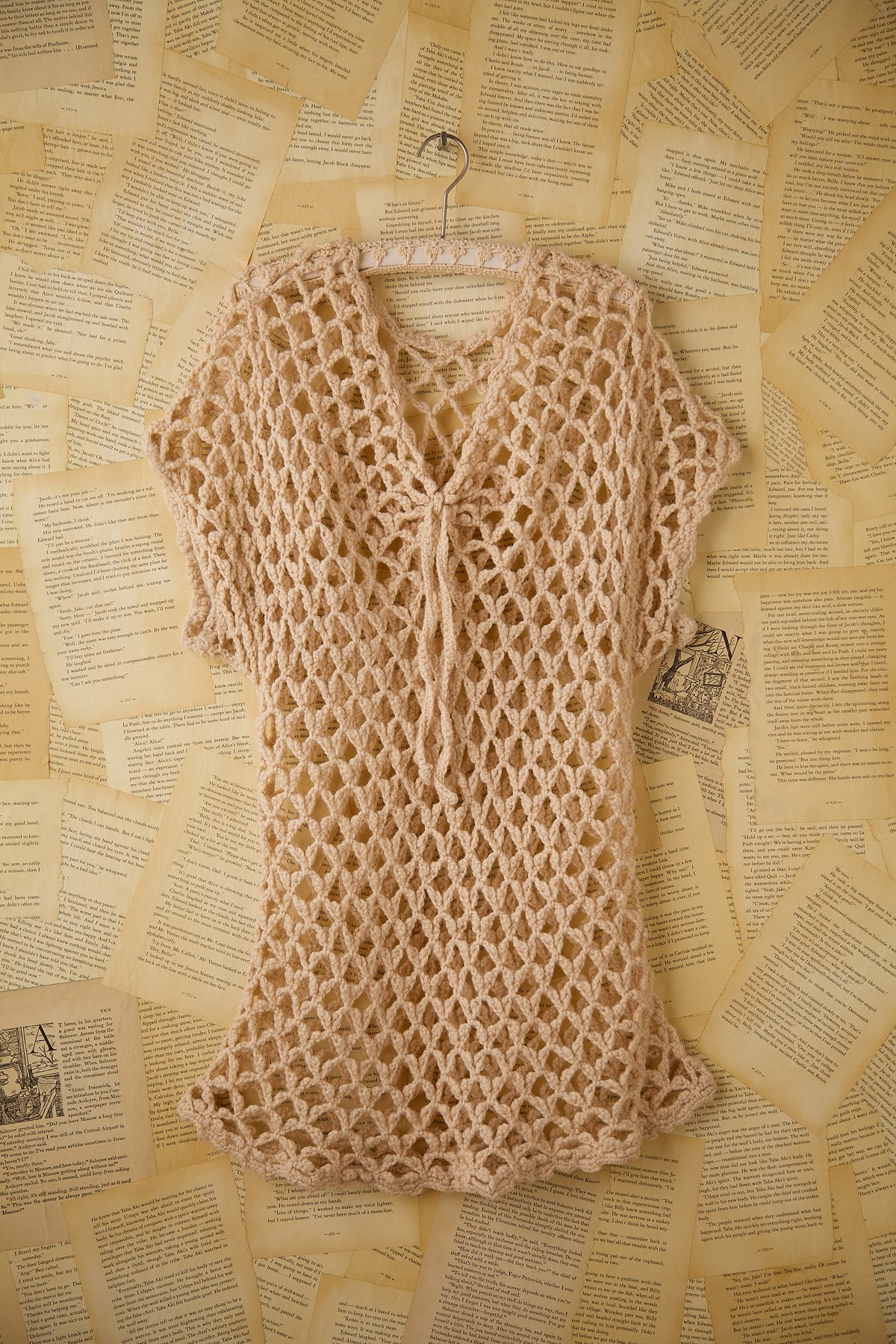 Vintage Wool Net Top