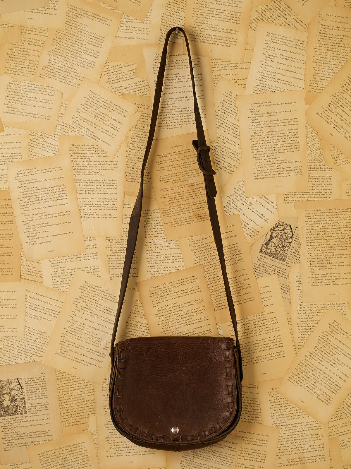 Vintage Leather Hunting Bag