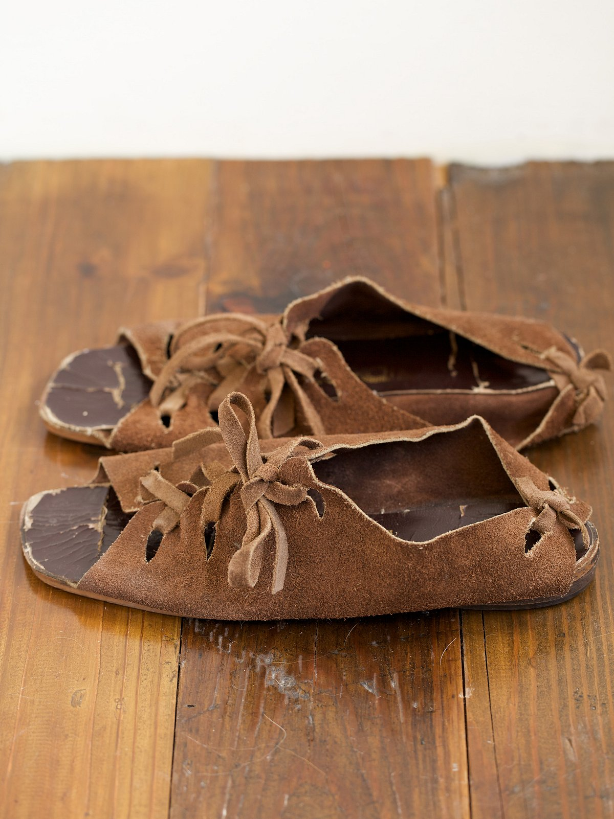 Vintage Capezio Suede Sandals
