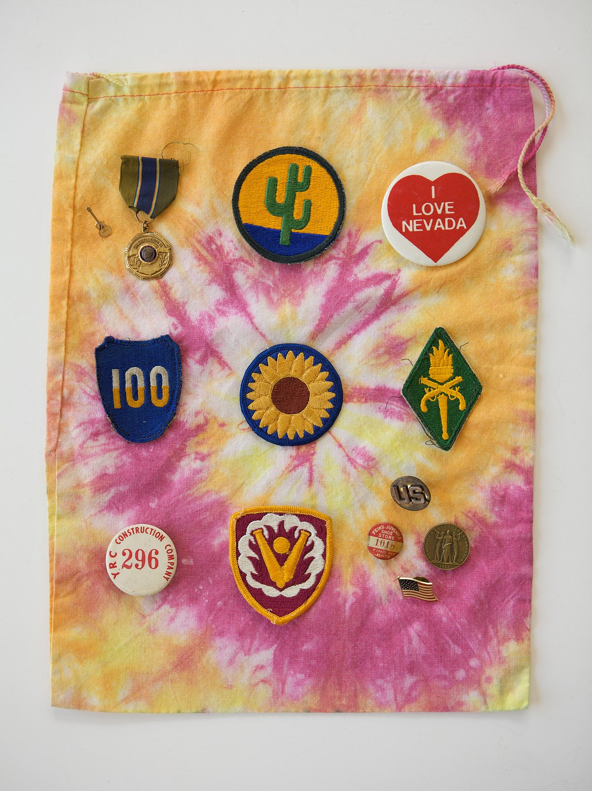 Vintage Assorted Pins & Patches