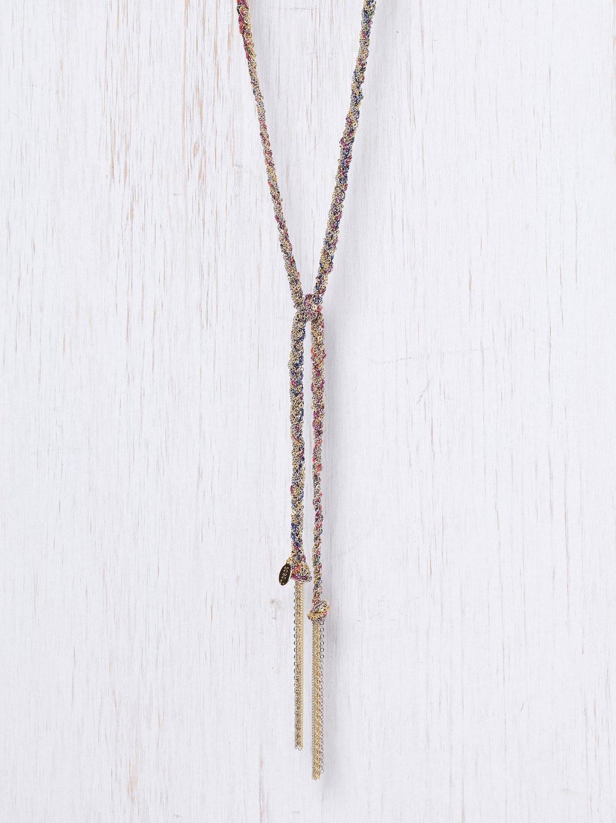 Braided Chain Lariat