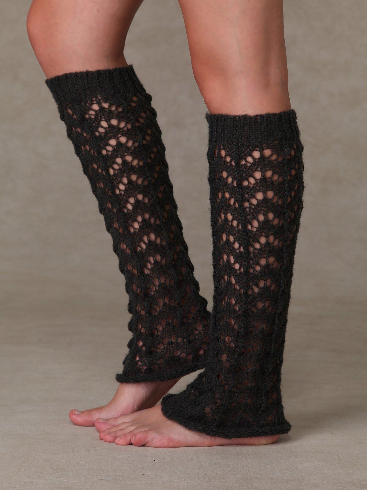 Lacey Crochet Legwarmer