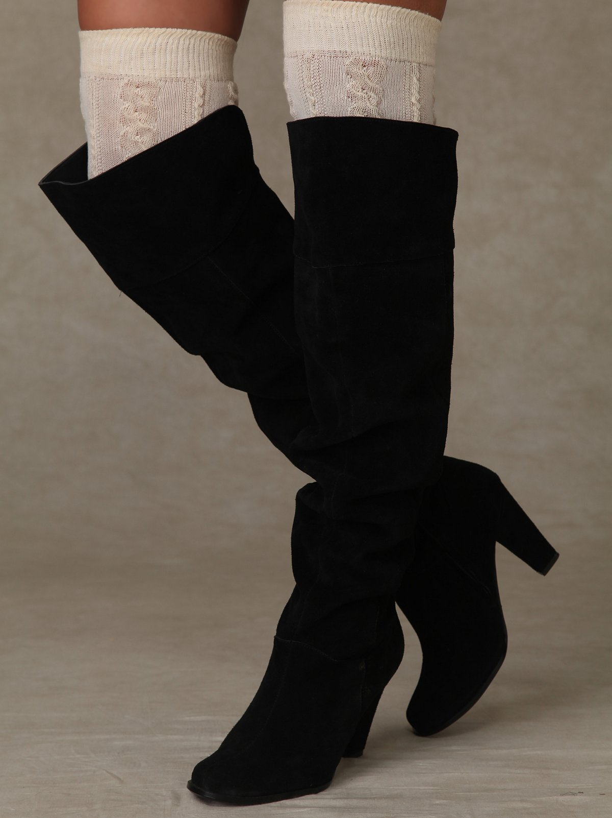 Siren Over The Knee Boot