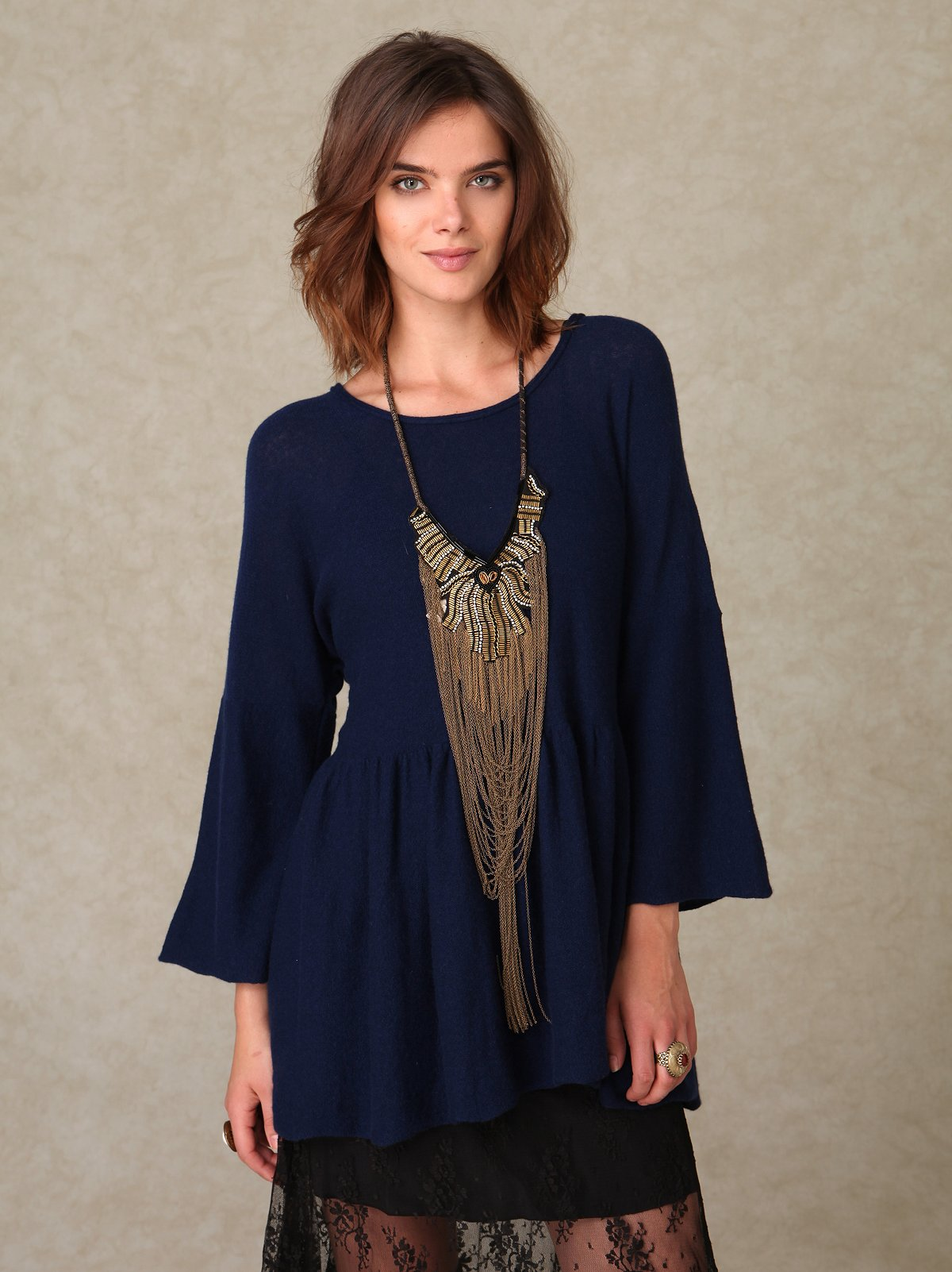Dolled Up in Cashmere Tunic