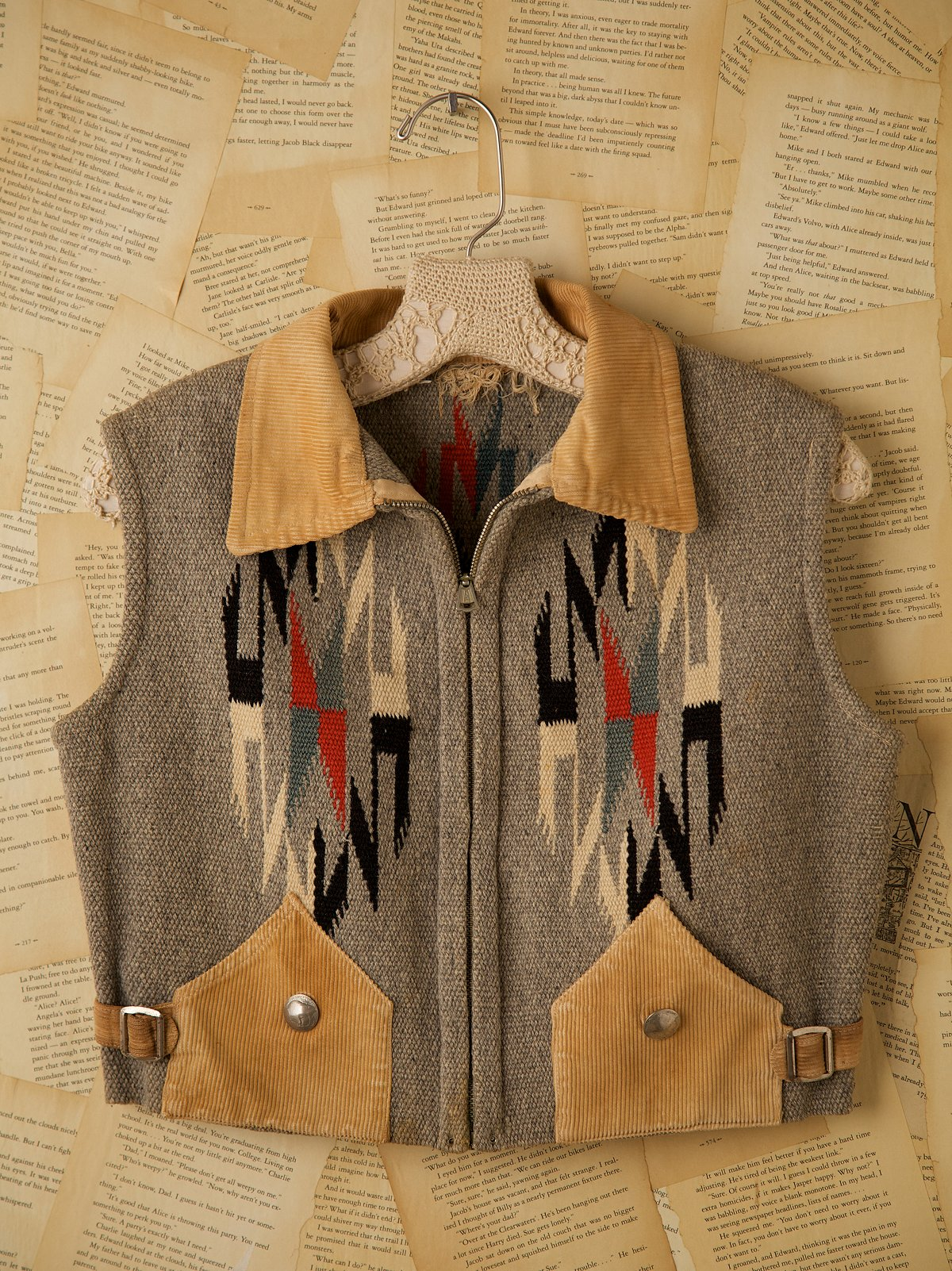 Vintage Chimayo Wool Vest