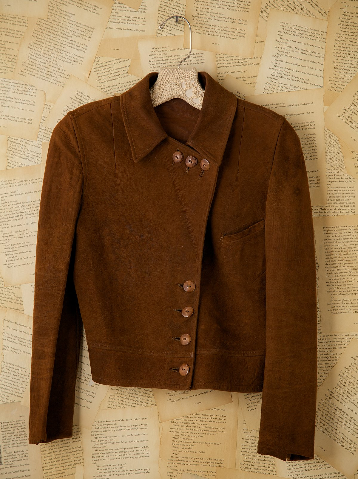 Vintage Roughout Suede Jacket