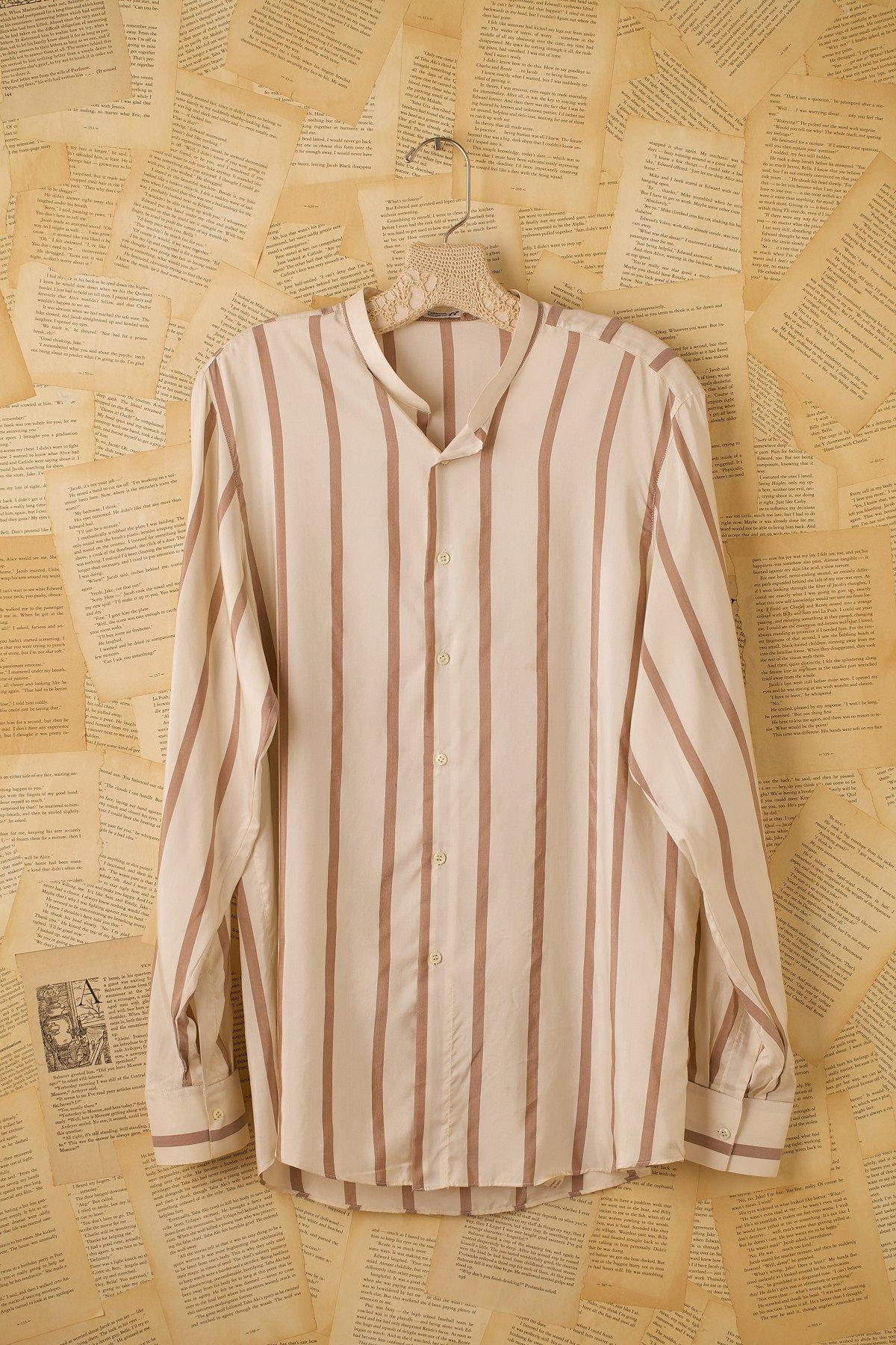 Vintage Long Sleeve Silk Shirt
