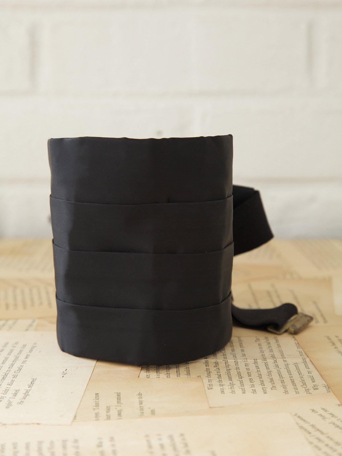 Vintage Black Cummerbund