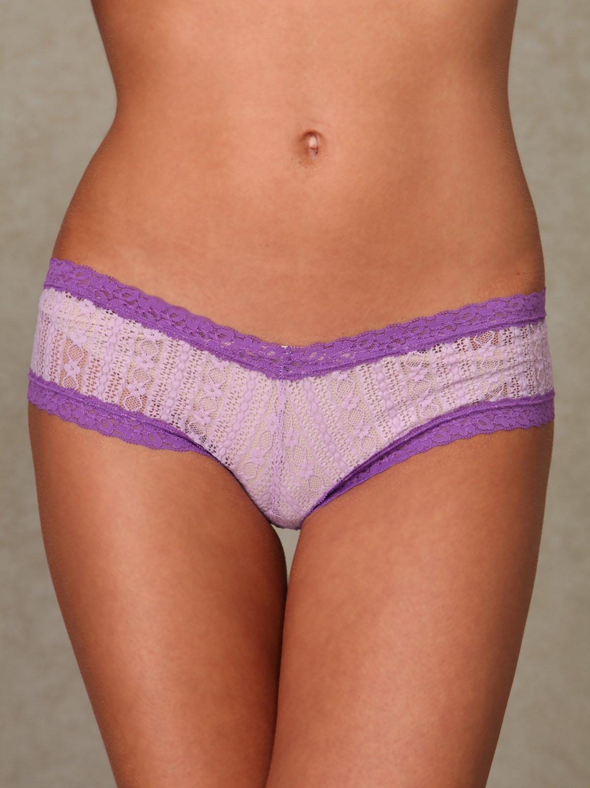 Linear Pucker Lace Pantie