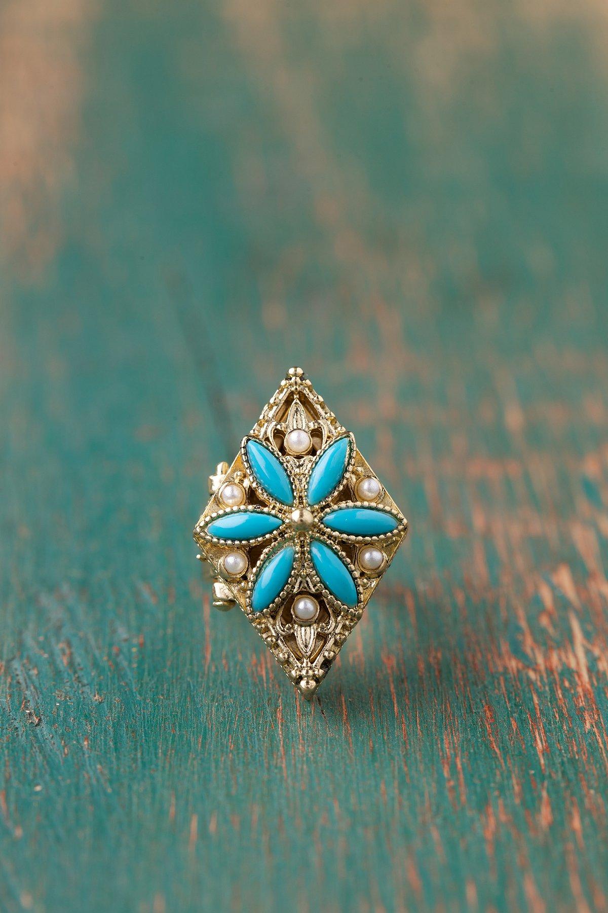 Marie Locket Ring