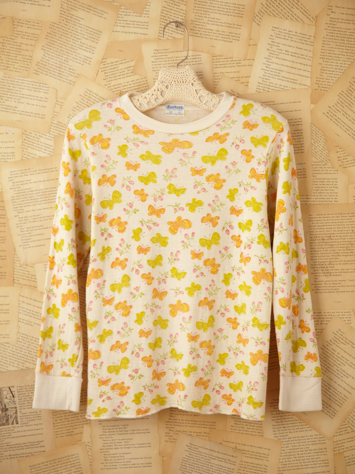 Vintage Butterfly Thermal